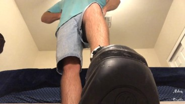 Gay Boot Lick Mesmerize & Orgasm Denial POV