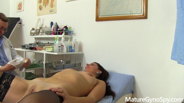 Caught fucking the doctor Young milf caught naked in gyno office with hidden cam by freaky doctor