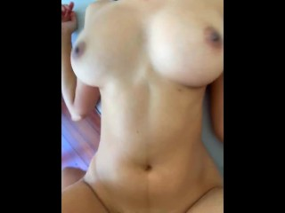 Slim Busty Teen Loves Getting Her Tiny Pussy Pounded