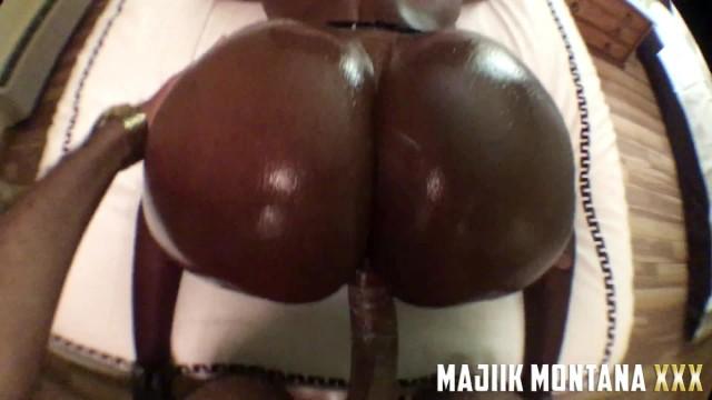 Smashing The Perfect Chocolate Bubble Booty POV 14