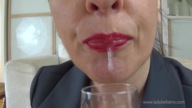 Promote adult website Bellatrix inc: celebrating your promotion with my spit teaser version