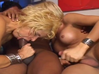 Threesome party with girl and married couple...