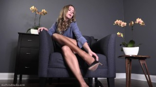 Foot Fetish Mesmerize Session Star Nine Nylon JOI Trailer