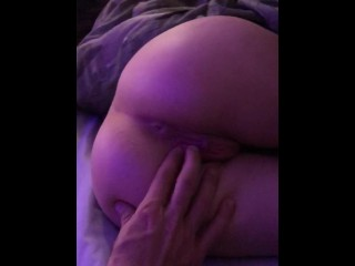 Wet and horny 19 year old woken up with my fingers