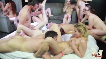Sonia Harcourt in Wild Party Orgy