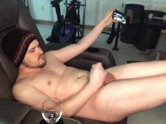 Male JOI | I Cum 3 Times, Eating My Own Load While You Light CBT & Get Off