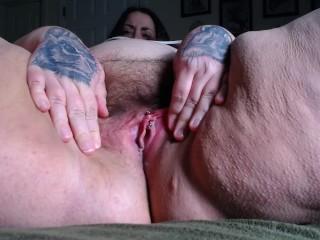 Bbw fat pussy close up...