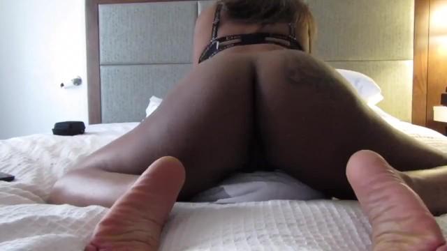 Chubby Ebony Teen Masturbation