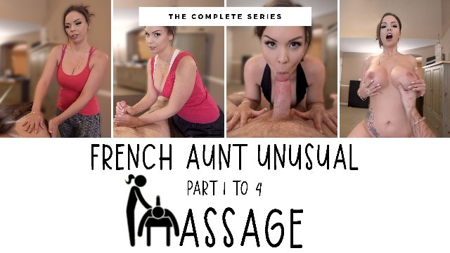 Aunt ruths mature French step-aunt unusual massage - complete - immeganlive - wca productions