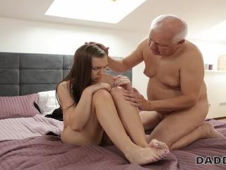 Old Man Teen Blowjob