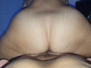 Milf grinding on cock