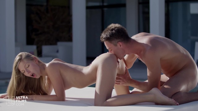 Who is the hottest blonde pornstar Ultrafilms anjelica aka ebbi the hottest blonde in amazing anal sex. ultra