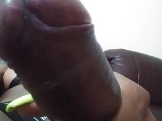 Lounging around dick...