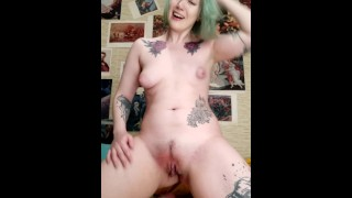 Slapping pussy, calling myself names for daddy, talking dirty