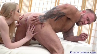 Gunnar Stone Bangs Emma Starletto Like a Boulder and Unleashes His Load