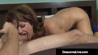 Huge Titty Cougar Deauxma Loves Young Cock & Cum!