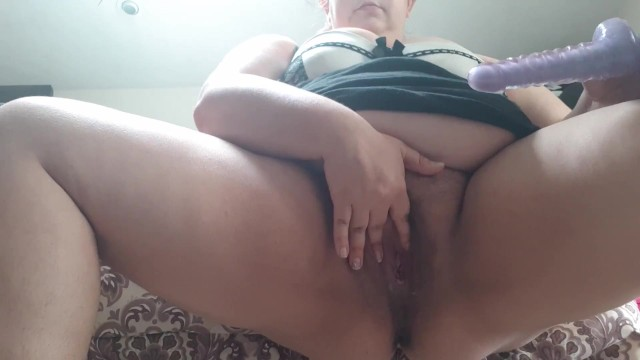 Weomen masturbate Horny chubby women masturbates and pisses all over bedroom floor
