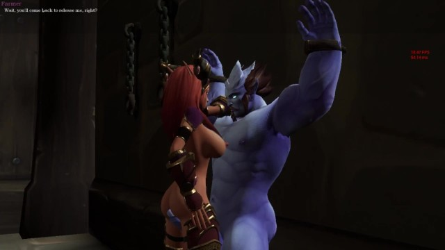 Cosplay porn vidoes World warcraft porn. alexstrasza was captured in the hands of a gnome
