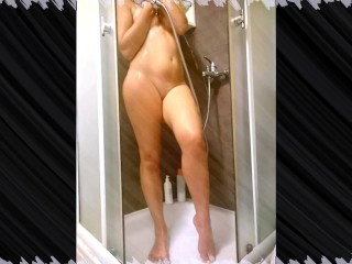 Time naked for public camera shower...