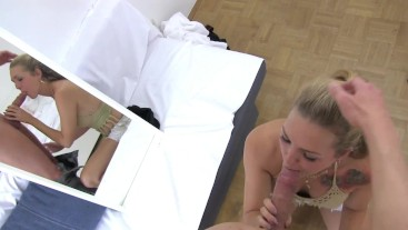 Creampie - pussy filled with sperm before going to party - XL-dick