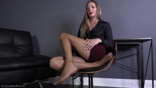 Corporate Therapy - Pantyhose Domination Femdom POV Star Nine Trailer