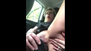 MILF ass fucked by bbc in public during quarantine n extra creamy pussy