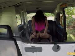 Fake Taxi Asian Marina Maya gets a taste of a Big Black Cock