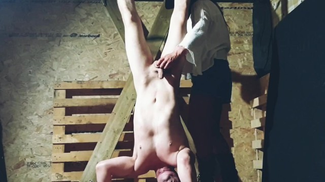 Jesse metcaff naked Suspended upside down in the barn by stunning cowgirl jess