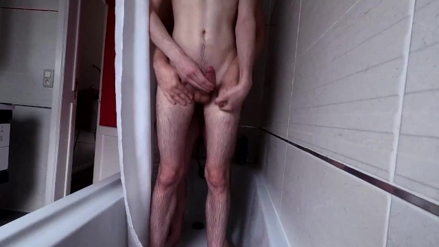 Young boy gay blog Hot young hung twink being fucked bareback in the shower