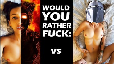 Fuck a Demon or a Mandalorian... would you rather? Vote in Comments!