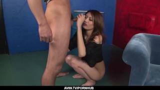 Dazzling scenes with Riina Fujimoto dealing a big dick - More at 69avs com