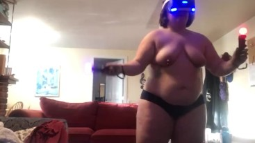 Chubby Girl Plays Beat Saber (Campaign 1)