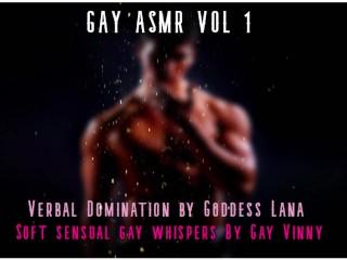 Gay asmr vol 1 goddess lana gay vinny...