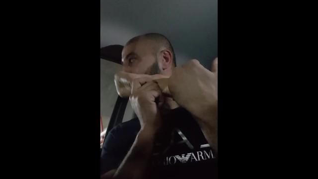 feet worship in the car 3 9
