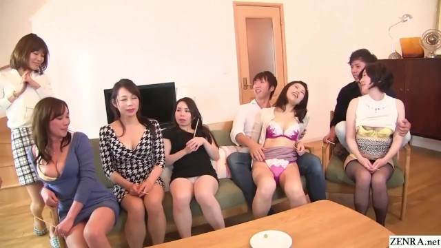 Free boobs and thong Japanese milf party thong lineup and cfnm handjobs