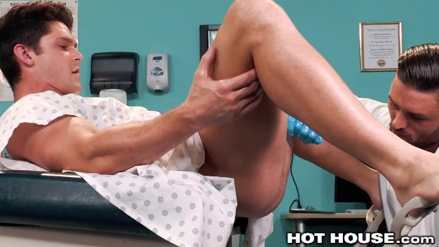 Gay muscle blowjobs Hothouse - doctor gives devin franco a prostate exam