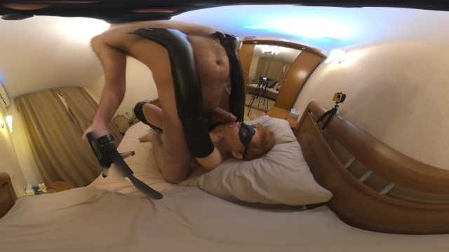 Mature cunts young cocks Gloves nipple play and cock licking 360 vr trailer