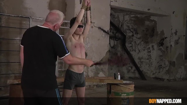 Gay boys getting whipped Blindfolded sub nathan reyes whipped by his master sebastian