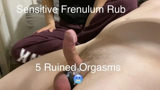 Penis frenuloplasty video Frenulum rubbing leads to 5 ruined orgasms