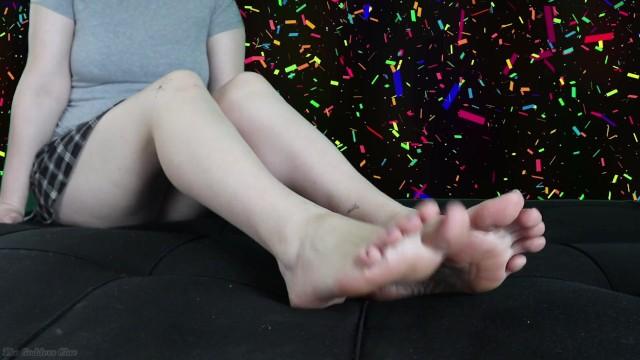 Happy Birthday Feet JOI - HD 4