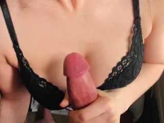 Cock Hungry Busty Teen Makes me Cum in 5 minutes!