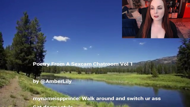 Free teen lesbian chatrooms Poetry from a sexcam chatroom vol 1