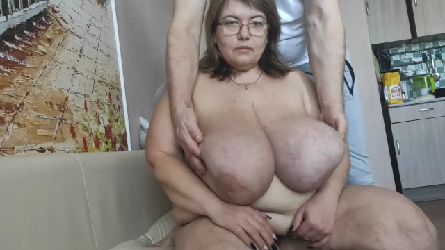 Boobs size 12c Tits 12 sizes. macromastia. mothers massage. milking.irena doykina