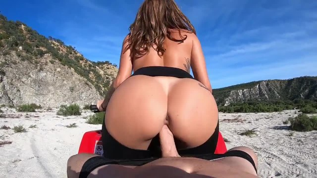 SinsLife - Naked Donuts & Fucking on an ATV!