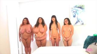 4 Girls Asian Massage Broken English BBW with Thin Chicks Preview