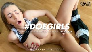 DoeGirls - Big Tits Ukrainian Babe Josephine Jackson Gets Her Pussy Wet