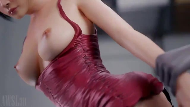 Big tits young old men Ada wong standing fuck w/sound resident evil