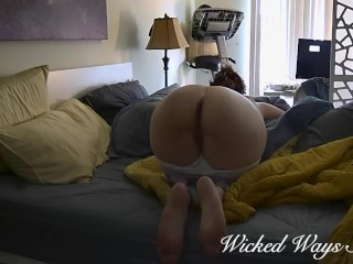 MILF caught getting Her Ass Fucked on Security Camera Katja Security Cam #2