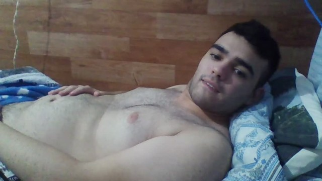 Nino nude gay Hungry bear boy wants to fill his belly