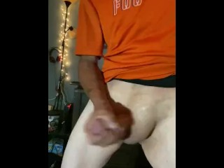 Jacking off to porn hub really fucking   Horney